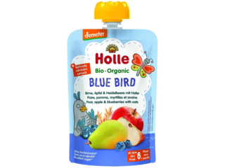 "Pouchy ""Blue Bird"" Bio-Früchtepüree"
