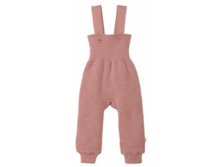 Baby Hose mit Trägern rosé