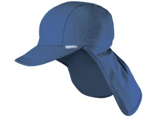 Baby und Kinder Sonnenschutz Mütze UV 40 jeans