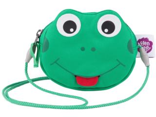 "Kinder Portemonnaie Brustbeutel ""Finn Frosch"" grün"