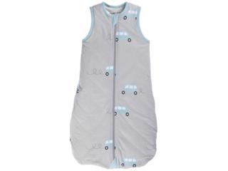 Schlafsack Baby Bio-Baumwolle Jersey ohne Arm Auto