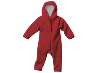 Baby Walk-Overall bordeaux