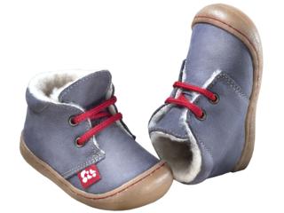 """Kinder Schuhe """"Juan"""" pflanzlich gegerbt graphit"""