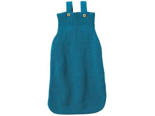 Schlaf- und Strampelsack aus Merino-Schurwolle (kbT) blue