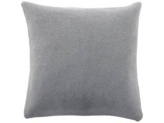 Kissenbezug 50x50 cm Bio Baumwolle light grey-melange