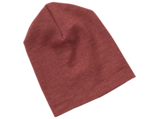 Baby und Kinder Mütze Helmmütze Merinowolle (kbT) Seide kupfer
