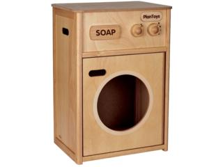 Kinder Waschmaschine aus Kautschukholz