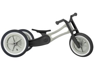 """Wishbone Bike Dreirad Laufrad 3-in-1 """"Recycled Edition"""" hellgrau"""