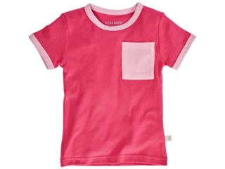 Kinder T-Shirt Bio-Baumwolle pink