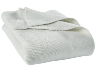 Babydecke Strick-Qualität Bio-Baumwolle (kbA) zartmint