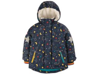 Kinder Winterjacke Sterne