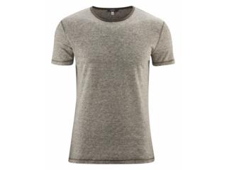 "Herren T-Shirt ""Andy"" Bio-Leinen olive-natural"