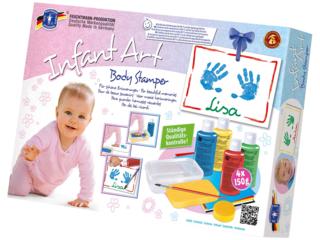 Body Stamper für Hand- und Fußabdrücke, 12-teilig