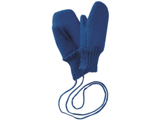 Baby und Kinder Handschuhe, Merino-Wollwalk (kbT) marine