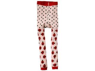 Kinder Leggings Marienkäfer rosa-rot