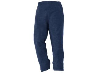 Kinder Leggings Schurwolle (kbT)-Seide marine