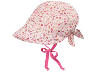 Baby und Kinder Schirmmütze Amelie Blume pink