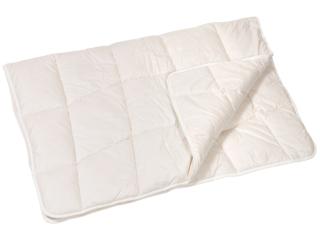 Kinderbettdecke Schurwolle mit Zirbe
