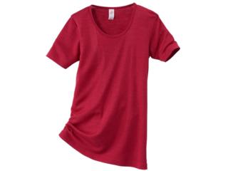 Damen-Unterhemd Kurzarm malve