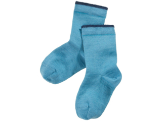 Kinder Socken bergblau
