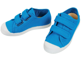 Kinder Schuhe Sneaker mit Klettverschluss türkis