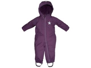 Baby und Kinder Overall Ganzjahresanzug mit Kapuze beere