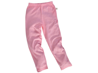 Kinder Leggings Bio-Baumwolle rosa