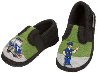 Kinder Hausschuhe Walkpuschen Polizist