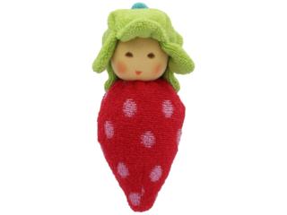 Greifling Erdbeere, rot