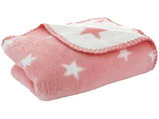 "Babydecke ""New Stars rosa"""