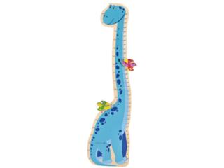 Messlatte Kind Dino aus Holz
