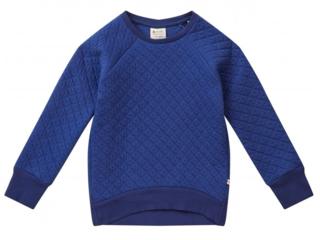 Kinder Pullover gesteppt blau