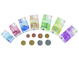 Kaufladen Spielgeld, 116-teilig