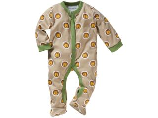 Baby Schlafanzug Bio-Baumwolle Löwe