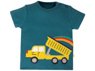 Baby und Kinder T-Shirt Truck blue