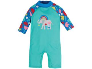 Baby und Kinder Badeanzug UV Schutzkleidung UV 40 plus Elefant