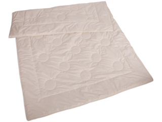 Bettdecke für Erwachsene Wildseide mit Merino-Schafschurwolle (kbT)