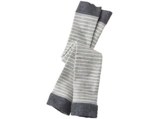 Baby Leggings grau-geringelt