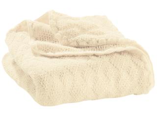 Baby-Wolldecke naturweiß