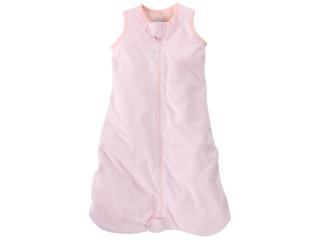 Schlafsack Baby, Baumwolle (kbA), rose-weiß-gestreift