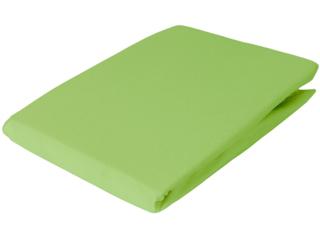 Spannbettlaken Bio-Baumwolle apfelgrün