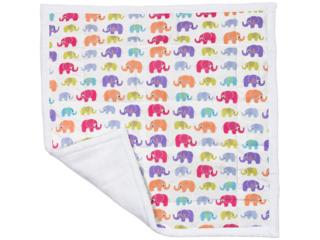 Wickelunterlage Bio-Baumwolle Elefanten