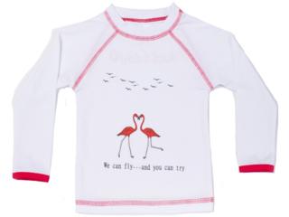 "Kinder Langarmshirt Badeshirt UV Schutzkleidung UV 50+ ""Rit"""
