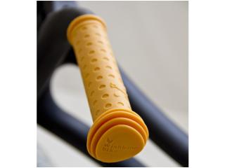 Wishbone Bike Lenker Griffe gelb