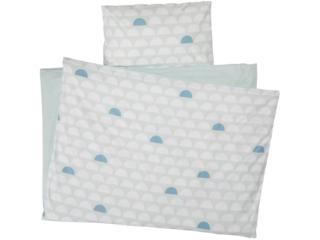 Bettwäsche zum Wenden Bio-Baumwolle Haklbkreis Mint