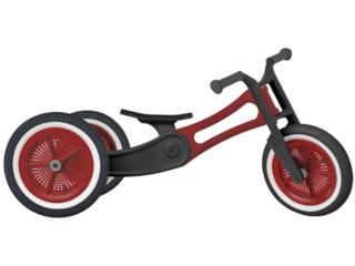 "Wishbone Bike Dreirad Laufrad 3-in-1 ""Recycled Edition"" rot"