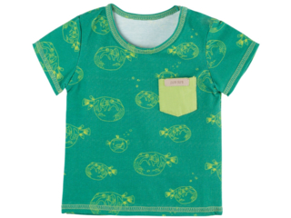 Kinder T-Shirt UV Schutzkleidung UV 50 Kugelfisch