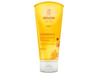 Calendula Baby Waschlotion & Shampoo - reinigt sanft und pflegt