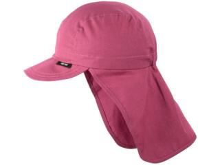 Baby und Kinder Sonnenschutz Mütze UV 30 cassis