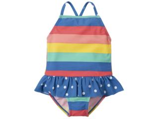 Baby und Kinder Badeanzug UV Schutzkleidung UV 50 plus Rainbow